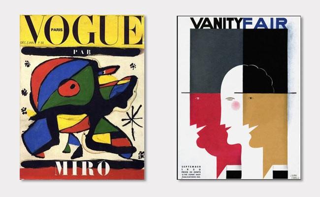 Künstler gestalten die Cover von Vogue und Vanity fair
